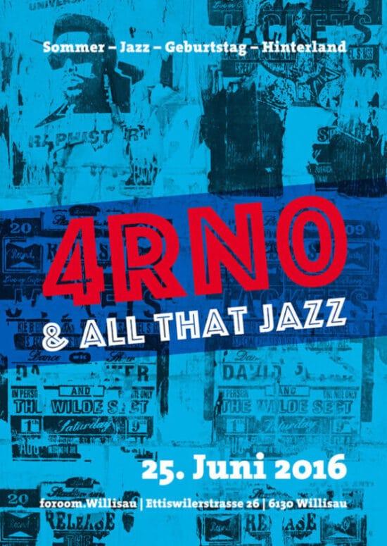 Geburtstags-Einladung Sommer Jazz