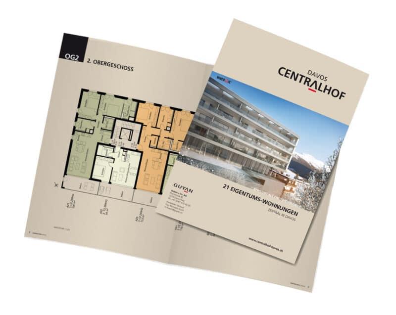 Homegate Immobilien Broschuere Davos