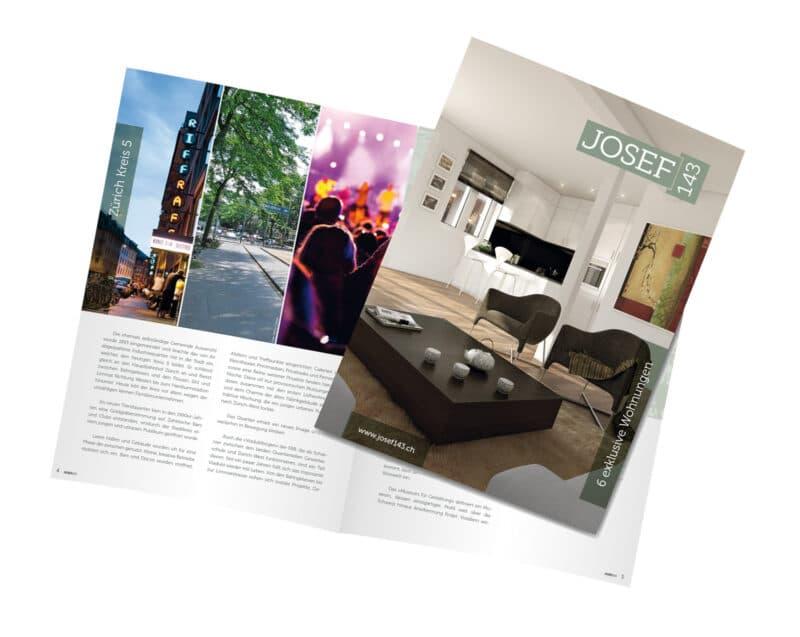 Homegate Immobilien Broschuere Zuerich