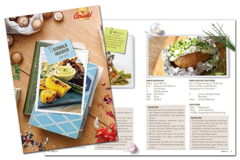Insider Broschuere Oswald Nahrungsmittel