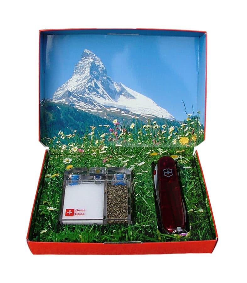 Swiss Style Geschenks-Verpackung Taschenmesser