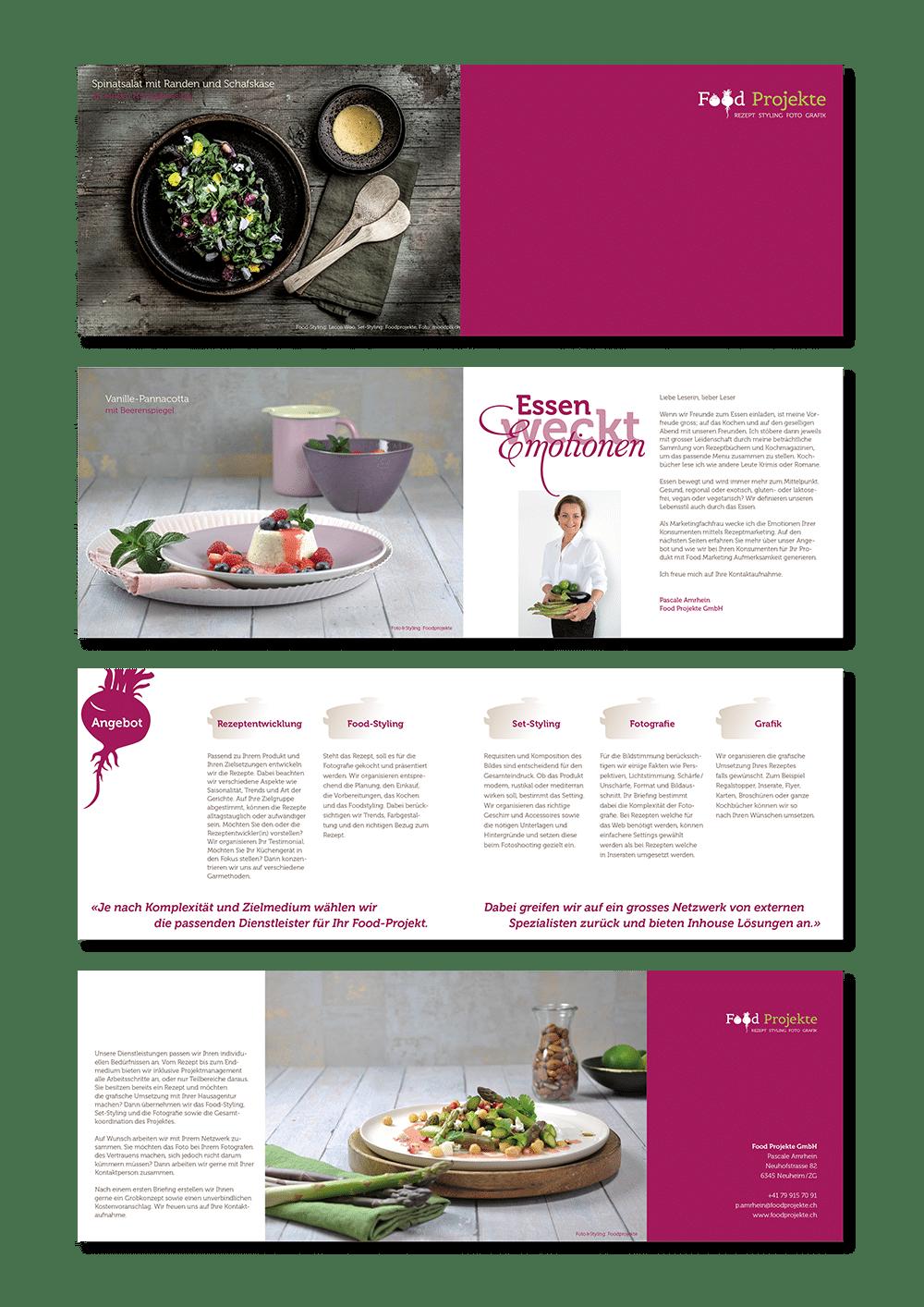 Food Projekte Image Broschuere